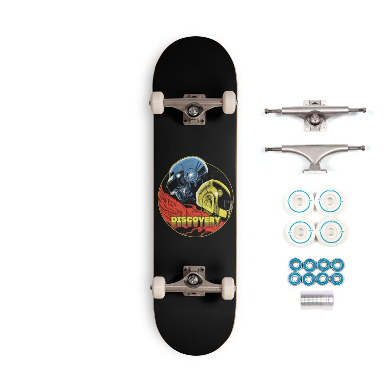 Discovery Accessories Complete - Basic Skateboard by RJ Artworks's Artist Shop