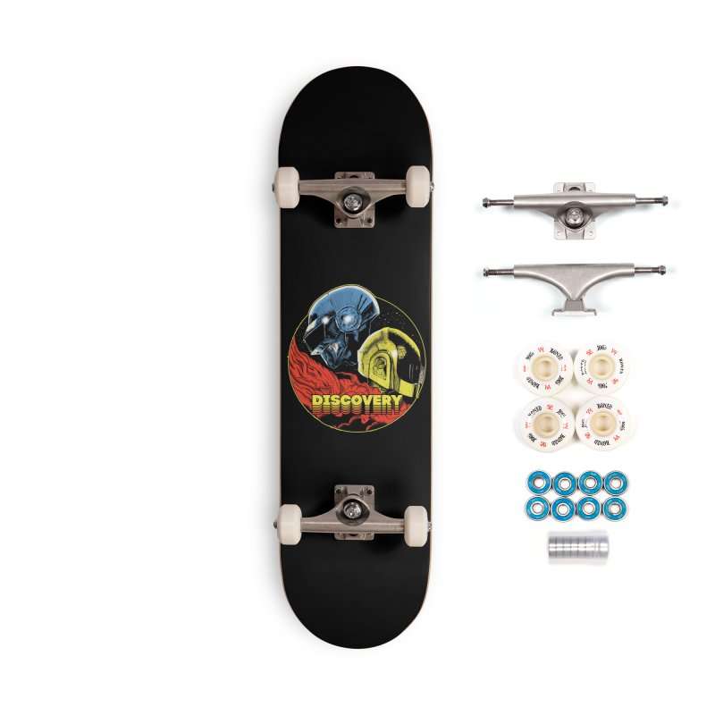 Discovery Accessories Complete - Premium Skateboard by RJ Artworks's Artist Shop