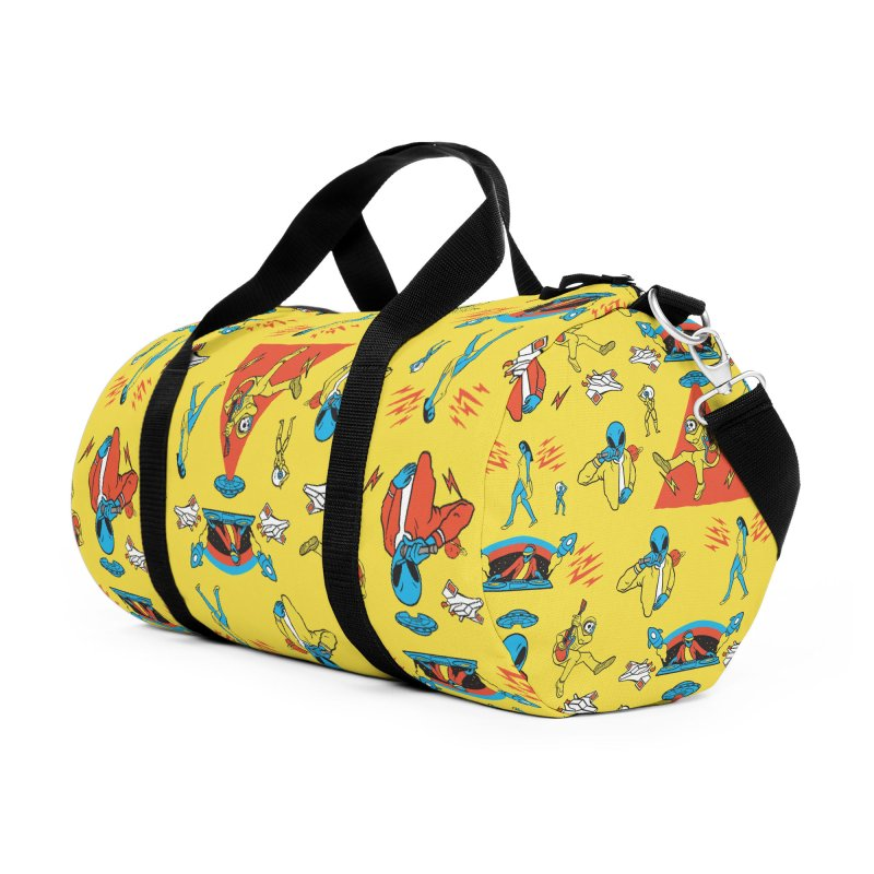 Alienation Accessories Duffel Bag Bag by RJ Artworks's Artist Shop