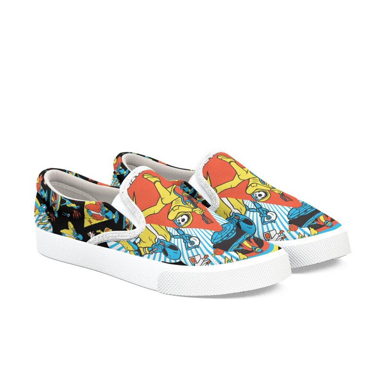 Alienation Women's Slip-On Shoes by RJ Artworks's Artist Shop