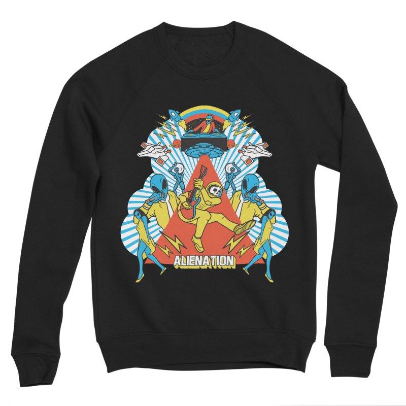 Alienation Men's Sponge Fleece Sweatshirt by RJ Artworks's Artist Shop