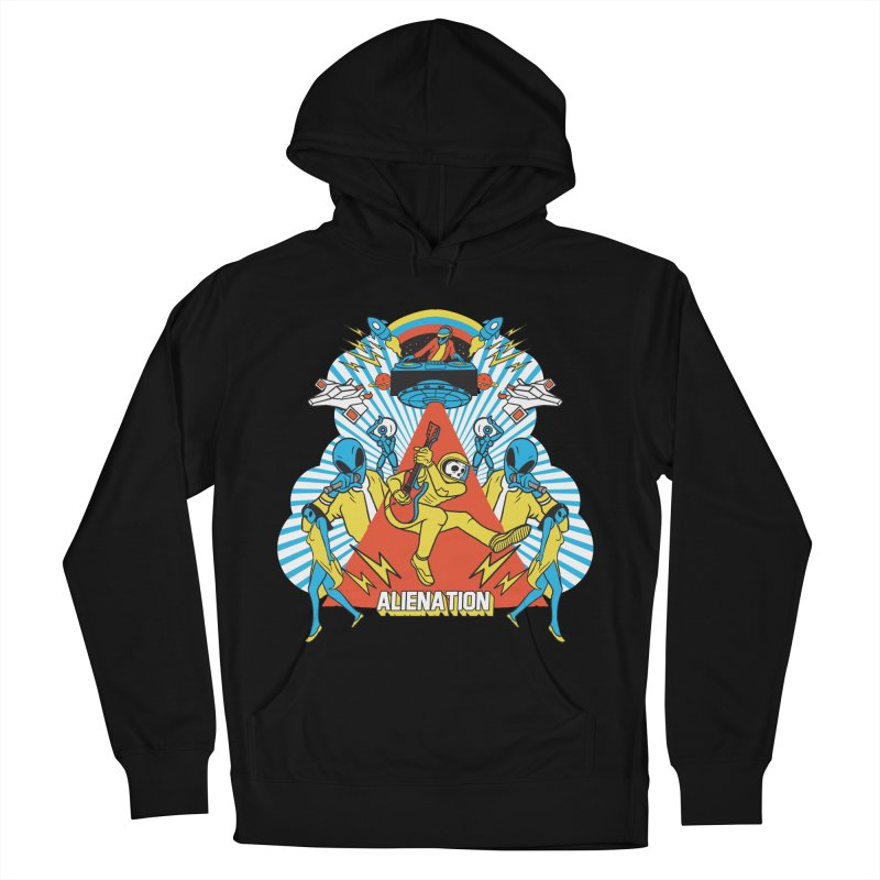 Alienation Men's French Terry Pullover Hoody by RJ Artworks's Artist Shop