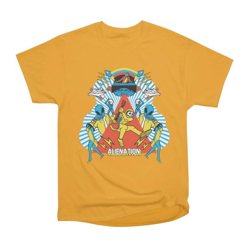 Alienation Men's Heavyweight T-Shirt by RJ Artworks's Artist Shop