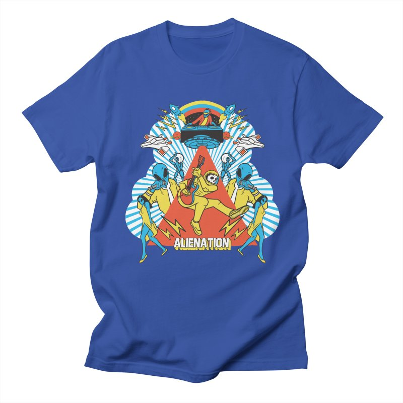 Alienation Men's Regular T-Shirt by RJ Artworks's Artist Shop