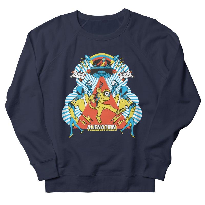 Alienation Women's French Terry Sweatshirt by RJ Artworks's Artist Shop
