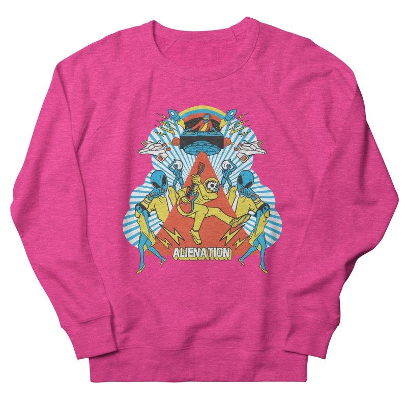 Alienation Men's French Terry Sweatshirt by RJ Artworks's Artist Shop