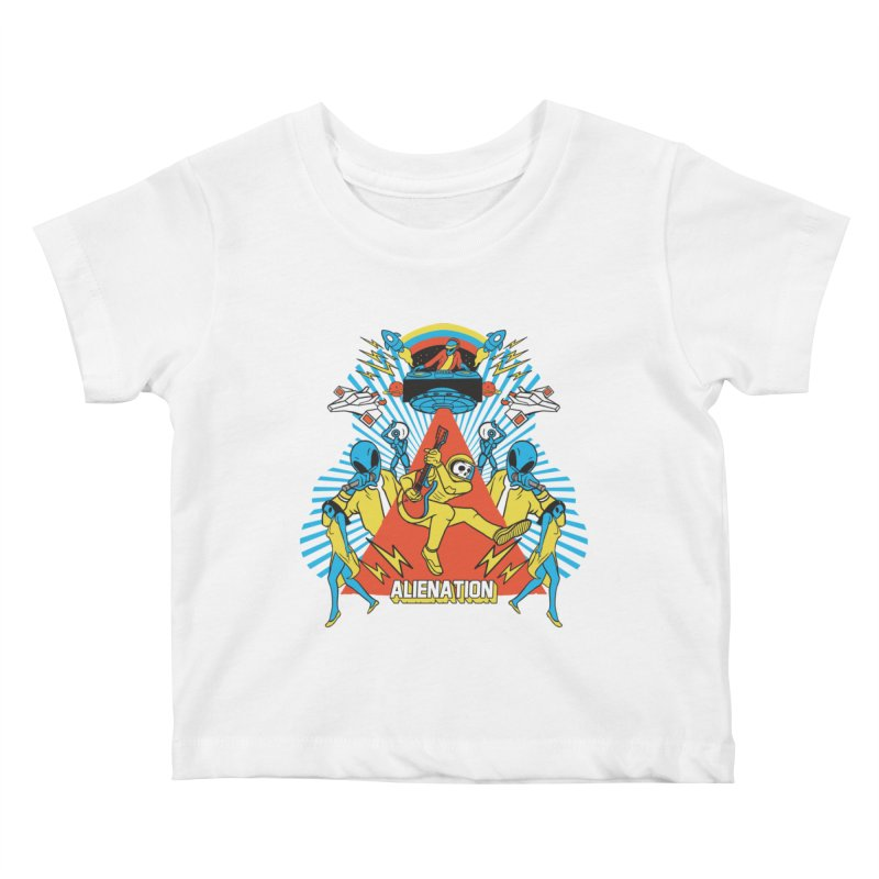 Alienation Kids Baby T-Shirt by RJ Artworks's Artist Shop
