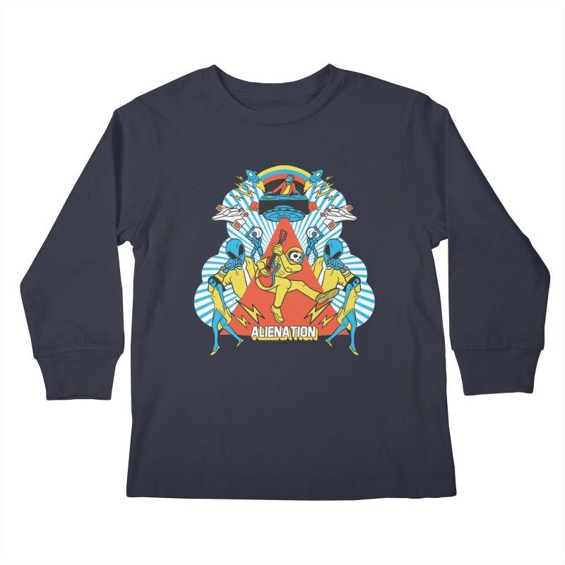Alienation Kids Longsleeve T-Shirt by RJ Artworks's Artist Shop
