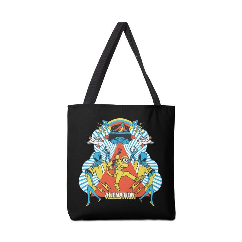 Alienation Accessories Tote Bag Bag by RJ Artworks's Artist Shop