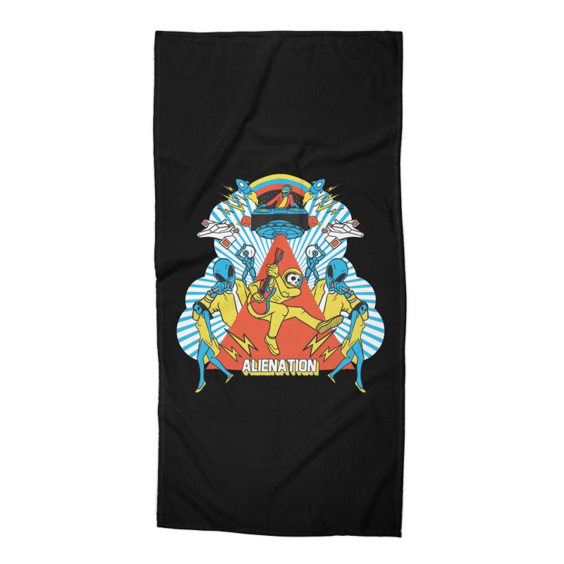 Alienation Accessories Beach Towel by RJ Artworks's Artist Shop
