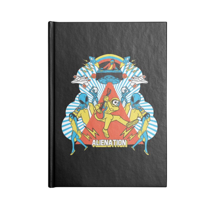 Alienation Accessories Blank Journal Notebook by RJ Artworks's Artist Shop