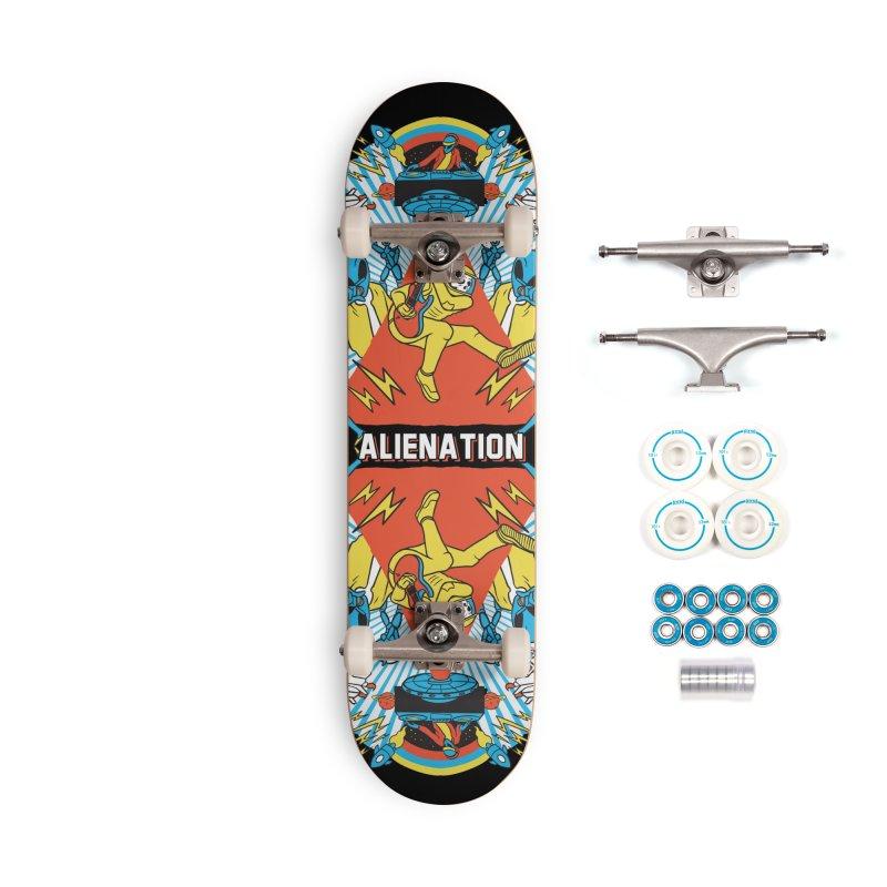 Alienation Accessories Complete - Basic Skateboard by RJ Artworks's Artist Shop