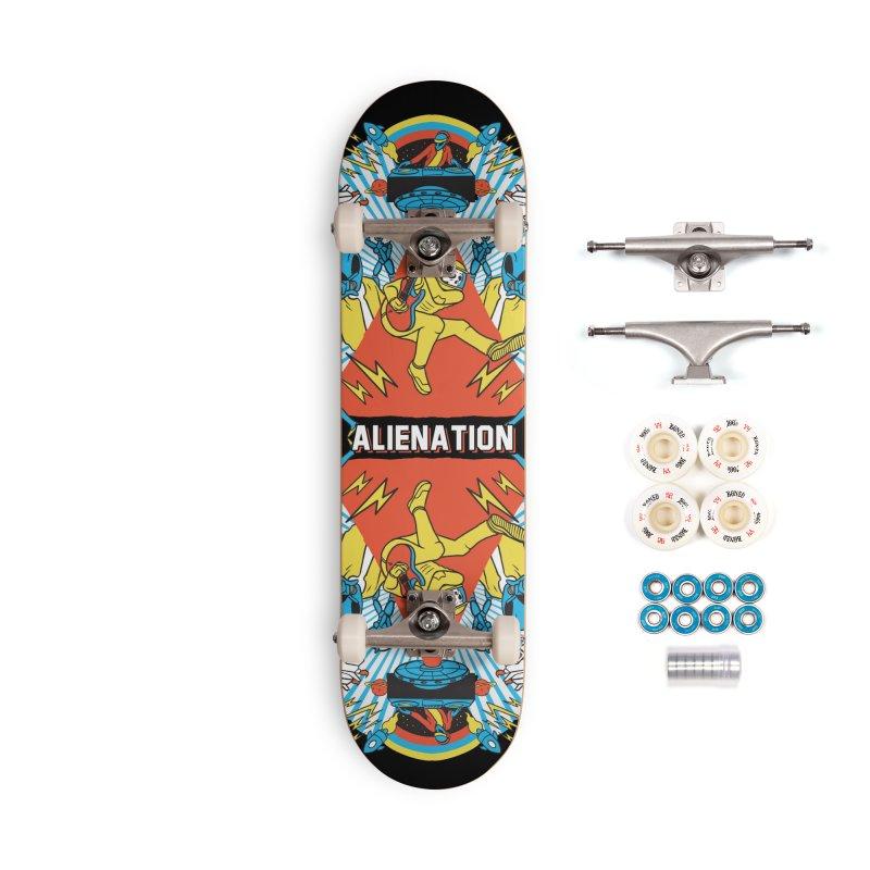 Alienation Accessories Complete - Premium Skateboard by RJ Artworks's Artist Shop