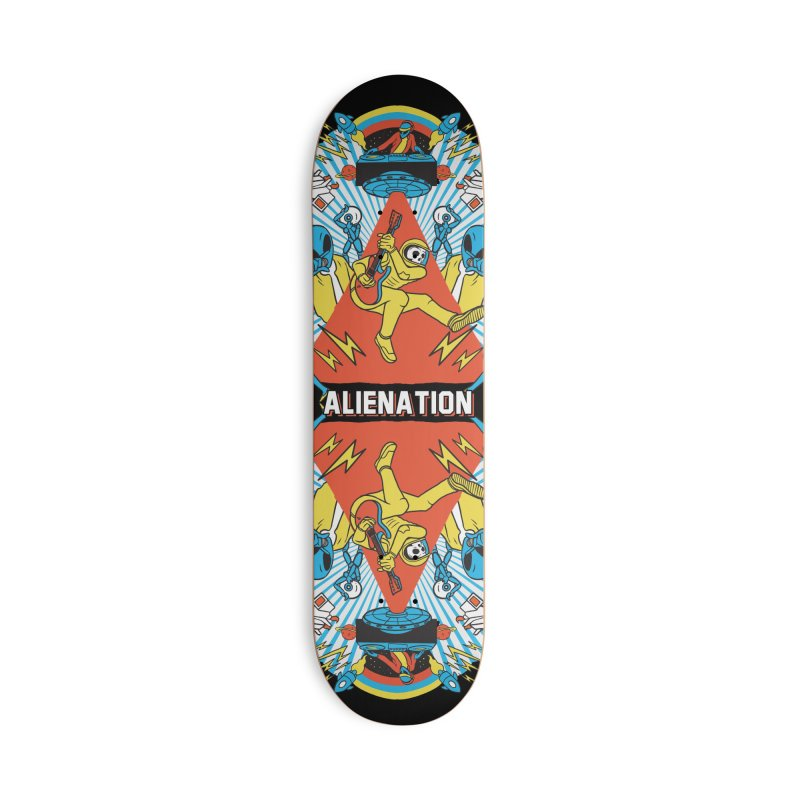 Alienation Accessories Deck Only Skateboard by RJ Artworks's Artist Shop