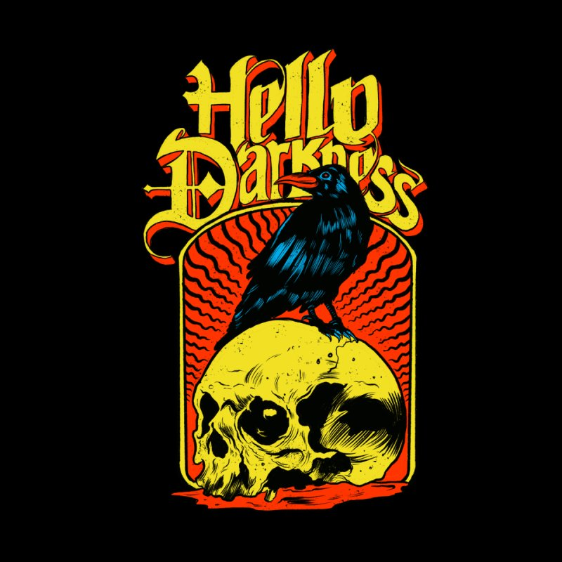 Hello Darkness by RJ Artworks's Artist Shop