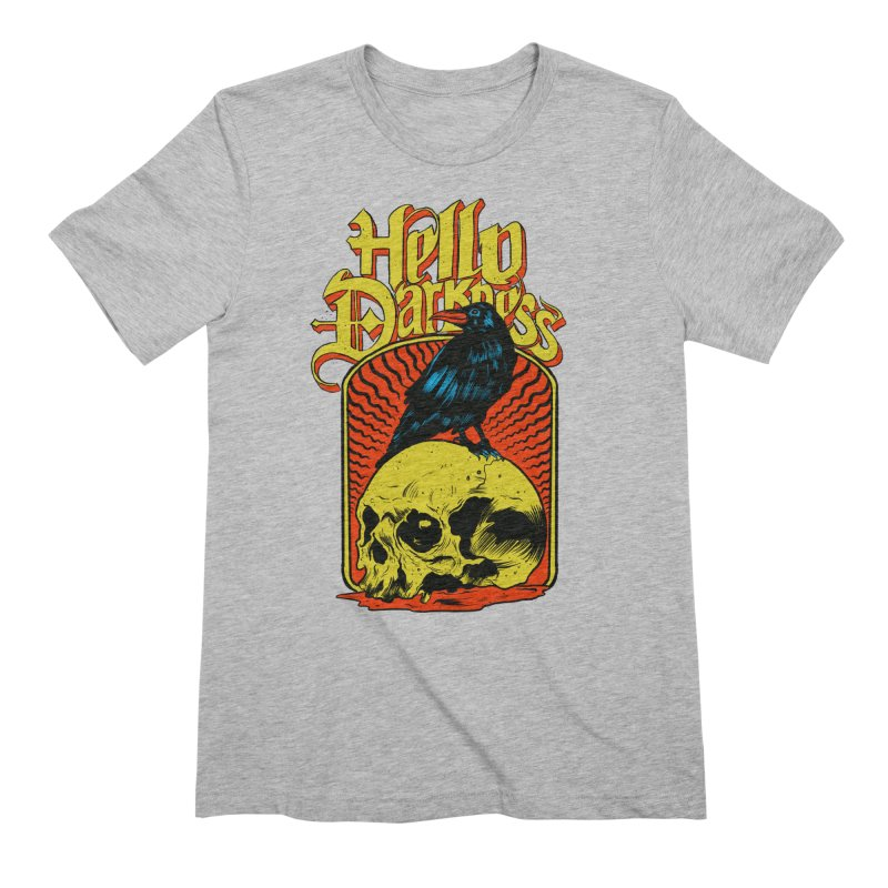 Hello Darkness Men's Extra Soft T-Shirt by RJ Artworks's Artist Shop