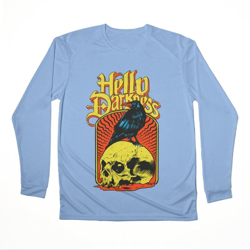 Hello Darkness Men's Performance Longsleeve T-Shirt by RJ Artworks's Artist Shop