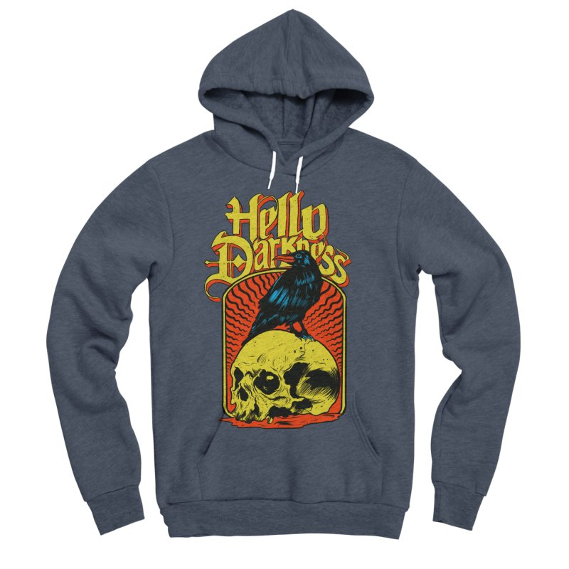 Hello Darkness Women's Sponge Fleece Pullover Hoody by RJ Artworks's Artist Shop