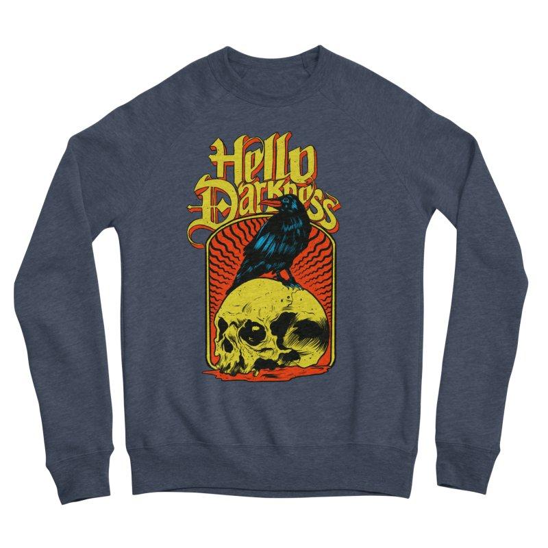 Hello Darkness Women's Sponge Fleece Sweatshirt by RJ Artworks's Artist Shop