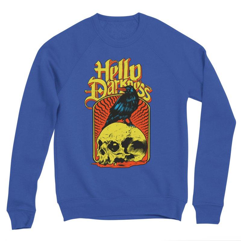 Hello Darkness Men's Sponge Fleece Sweatshirt by RJ Artworks's Artist Shop