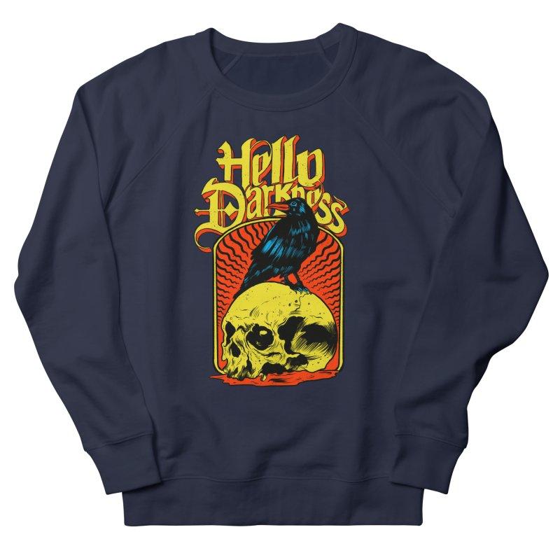 Hello Darkness Women's French Terry Sweatshirt by RJ Artworks's Artist Shop