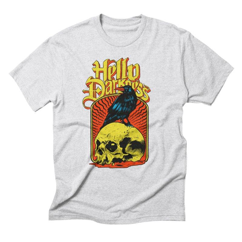 Hello Darkness Men's Triblend T-Shirt by RJ Artworks's Artist Shop