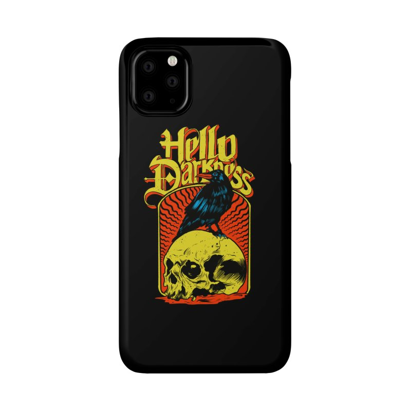 Hello Darkness Accessories Phone Case by RJ Artworks's Artist Shop
