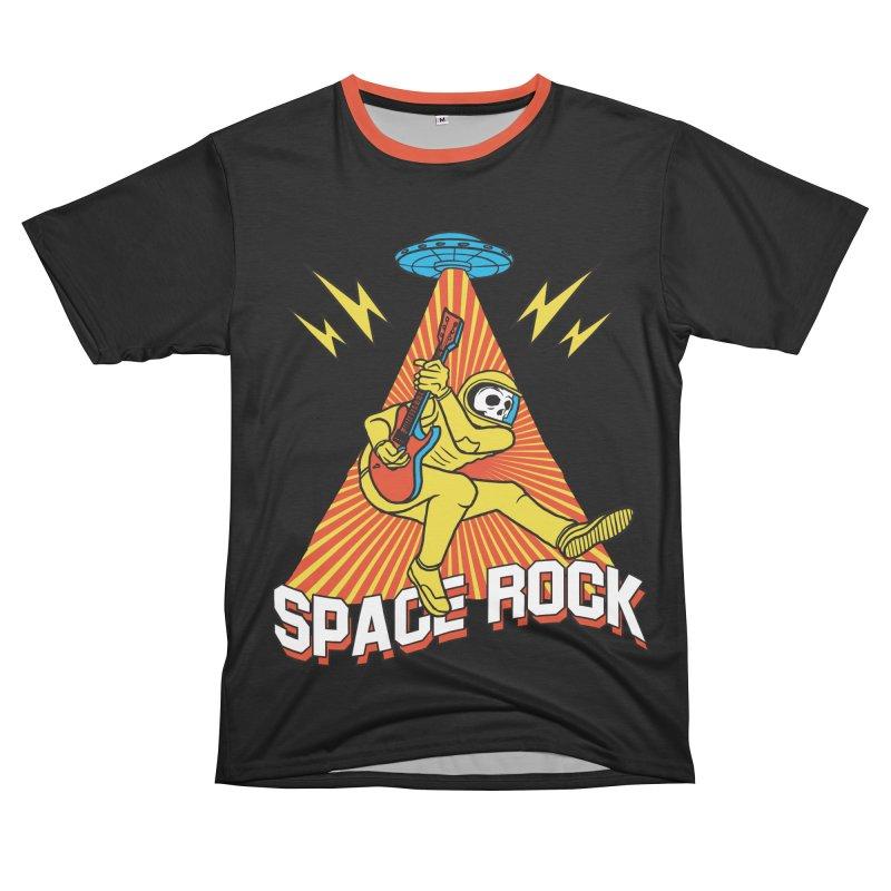 Space Rock Men's T-Shirt Cut & Sew by RJ Artworks's Artist Shop