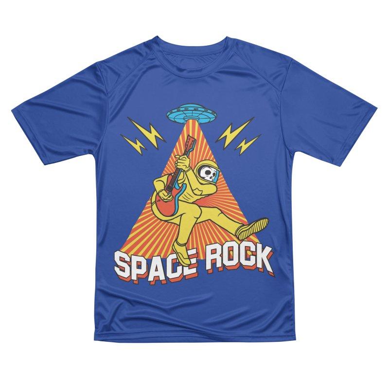 Space Rock Men's Performance T-Shirt by RJ Artworks's Artist Shop