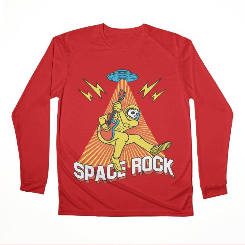Space Rock Women's Performance Unisex Longsleeve T-Shirt by RJ Artworks's Artist Shop