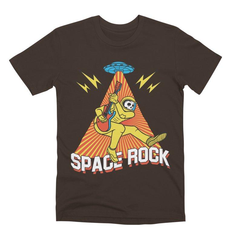 Space Rock Men's Premium T-Shirt by RJ Artworks's Artist Shop