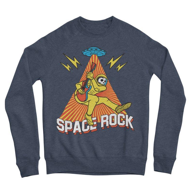 Space Rock Men's Sponge Fleece Sweatshirt by RJ Artworks's Artist Shop