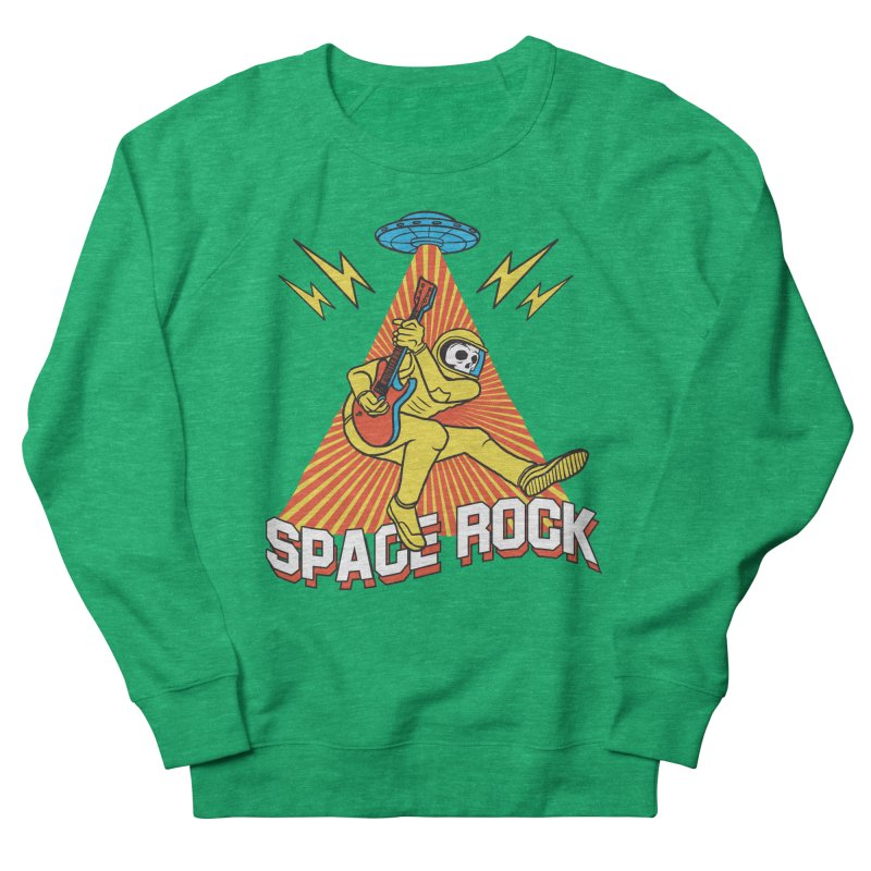 Space Rock Men's French Terry Sweatshirt by RJ Artworks's Artist Shop