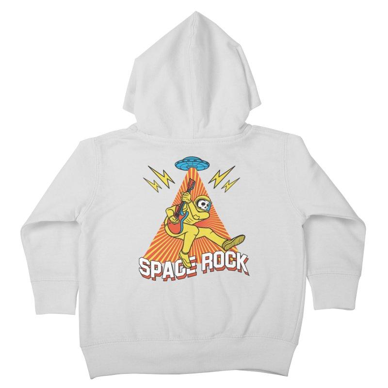 Space Rock Kids Toddler Zip-Up Hoody by RJ Artworks's Artist Shop
