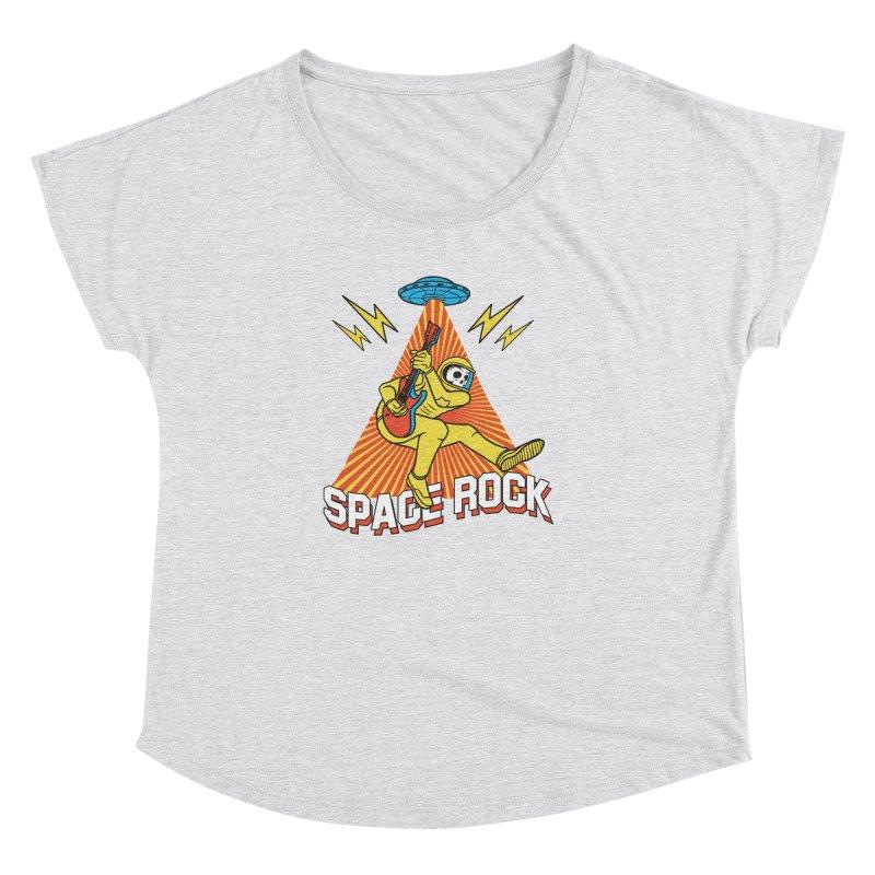 Space Rock Women's Dolman Scoop Neck by RJ Artworks's Artist Shop