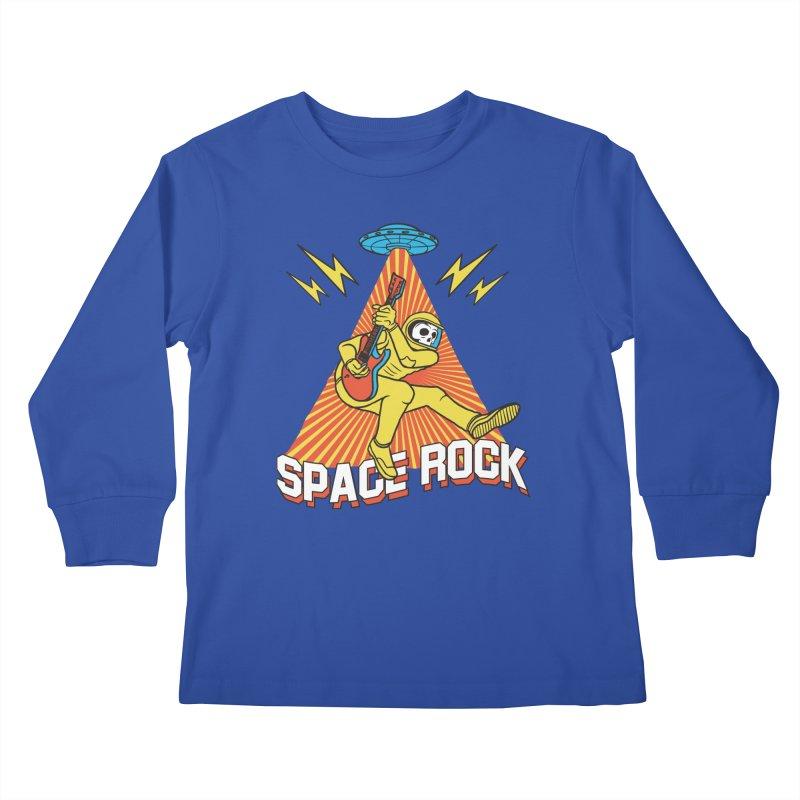 Space Rock Kids Longsleeve T-Shirt by RJ Artworks's Artist Shop