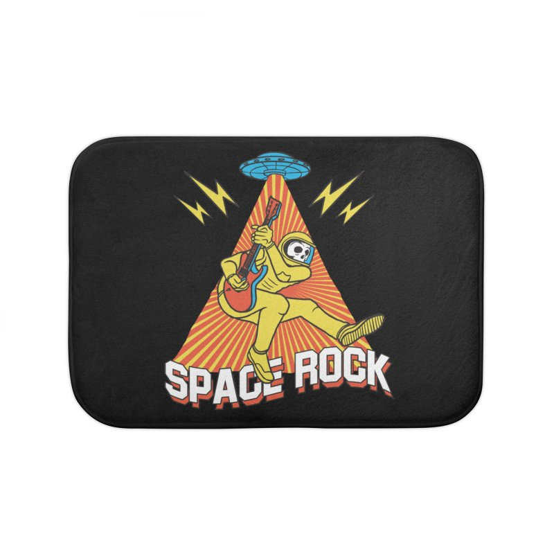 Space Rock Home Bath Mat by RJ Artworks's Artist Shop