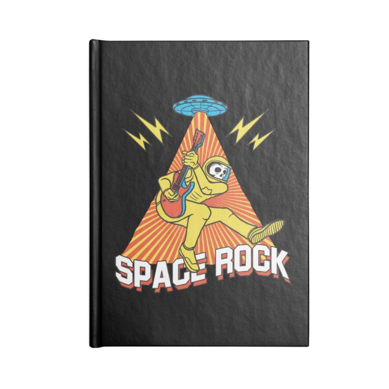 Space Rock Accessories Lined Journal Notebook by RJ Artworks's Artist Shop