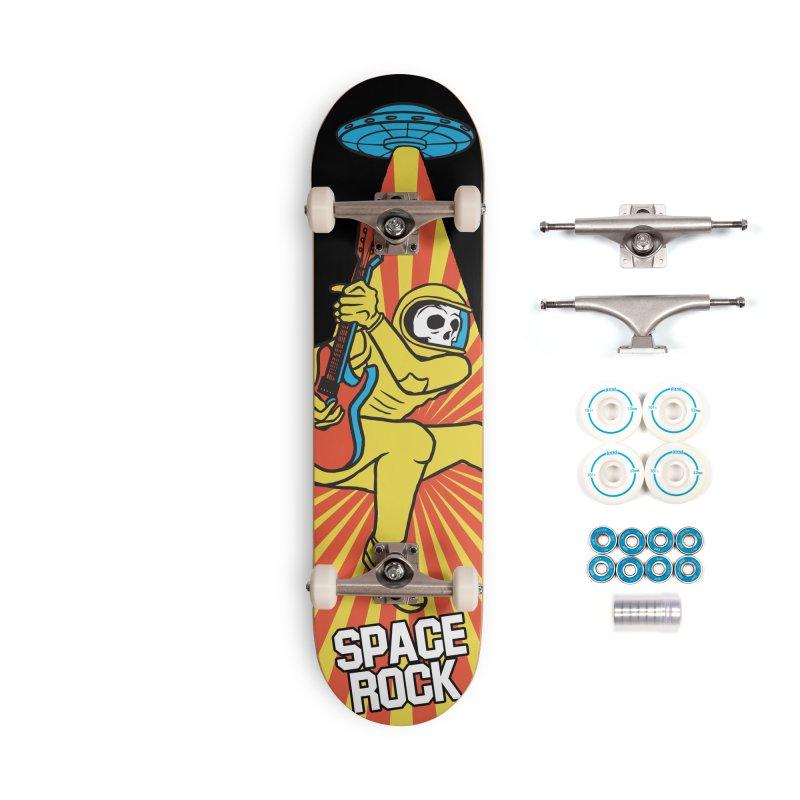 Space Rock Accessories Complete - Basic Skateboard by RJ Artworks's Artist Shop