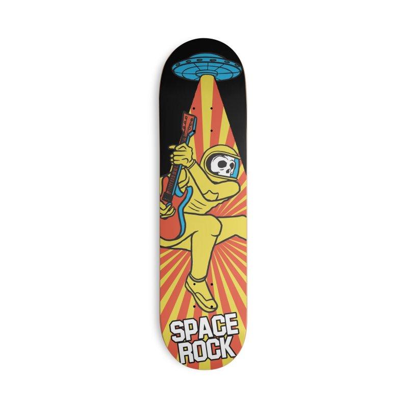 Space Rock Accessories Deck Only Skateboard by RJ Artworks's Artist Shop
