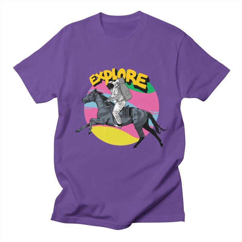 Space Rider Women's Regular Unisex T-Shirt by RJ Artworks's Artist Shop