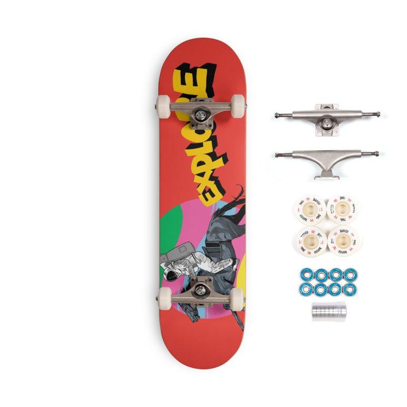 Space Rider Accessories Complete - Premium Skateboard by RJ Artworks's Artist Shop