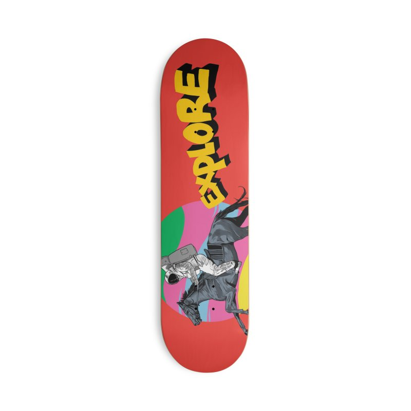 Space Rider Accessories Deck Only Skateboard by RJ Artworks's Artist Shop