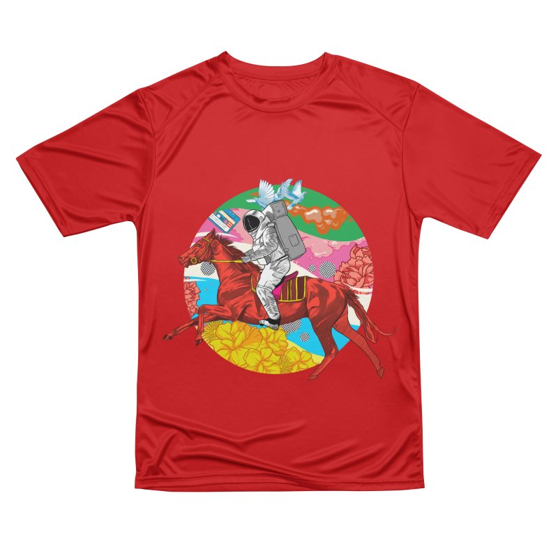 Psychedelic Space Journey Women's Performance Unisex T-Shirt by RJ Artworks's Artist Shop