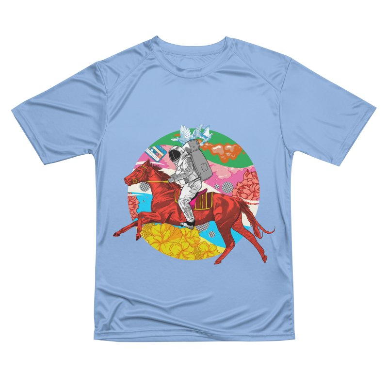 Psychedelic Space Journey Men's Performance T-Shirt by RJ Artworks's Artist Shop