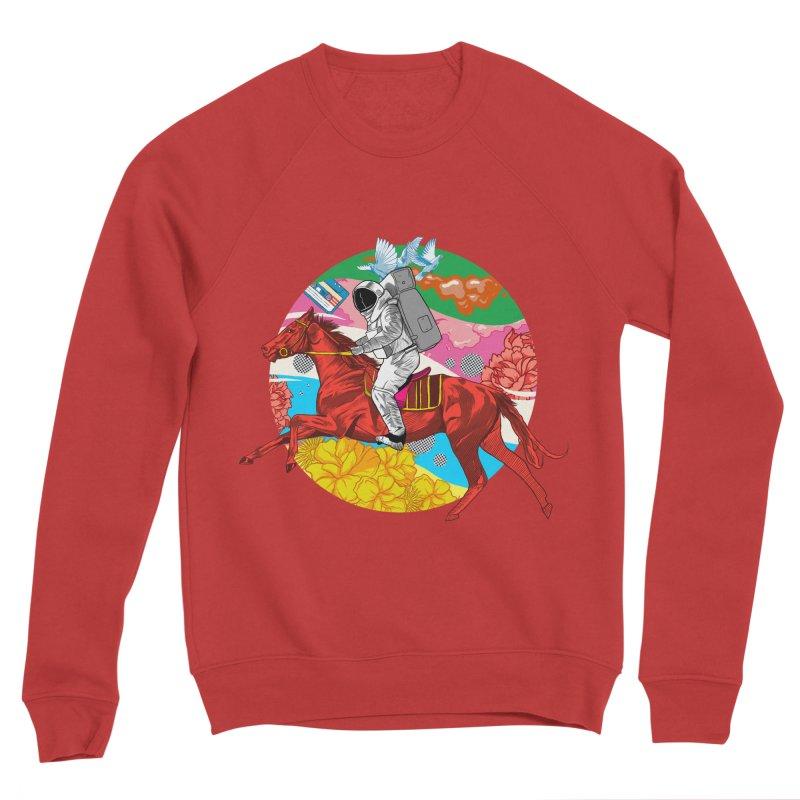 Psychedelic Space Journey Men's Sponge Fleece Sweatshirt by RJ Artworks's Artist Shop