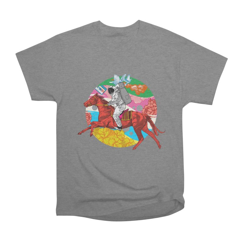 Psychedelic Space Journey Men's Heavyweight T-Shirt by RJ Artworks's Artist Shop