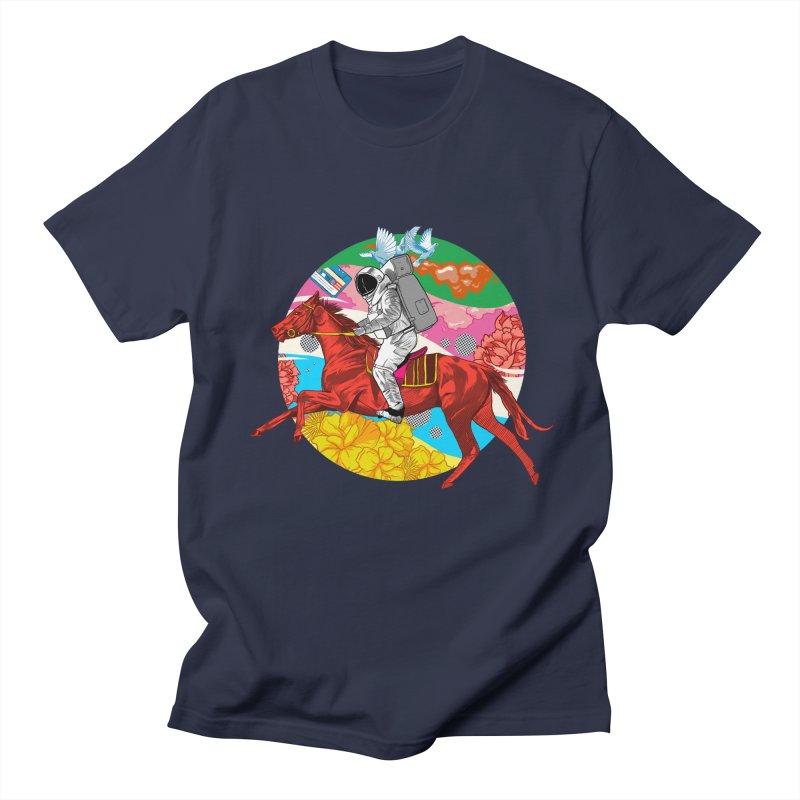 Psychedelic Space Journey Men's Regular T-Shirt by RJ Artworks's Artist Shop