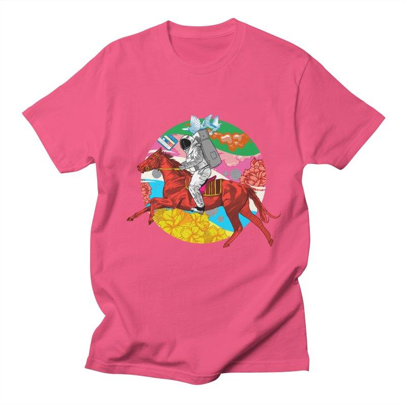 Psychedelic Space Journey Women's Regular Unisex T-Shirt by RJ Artworks's Artist Shop