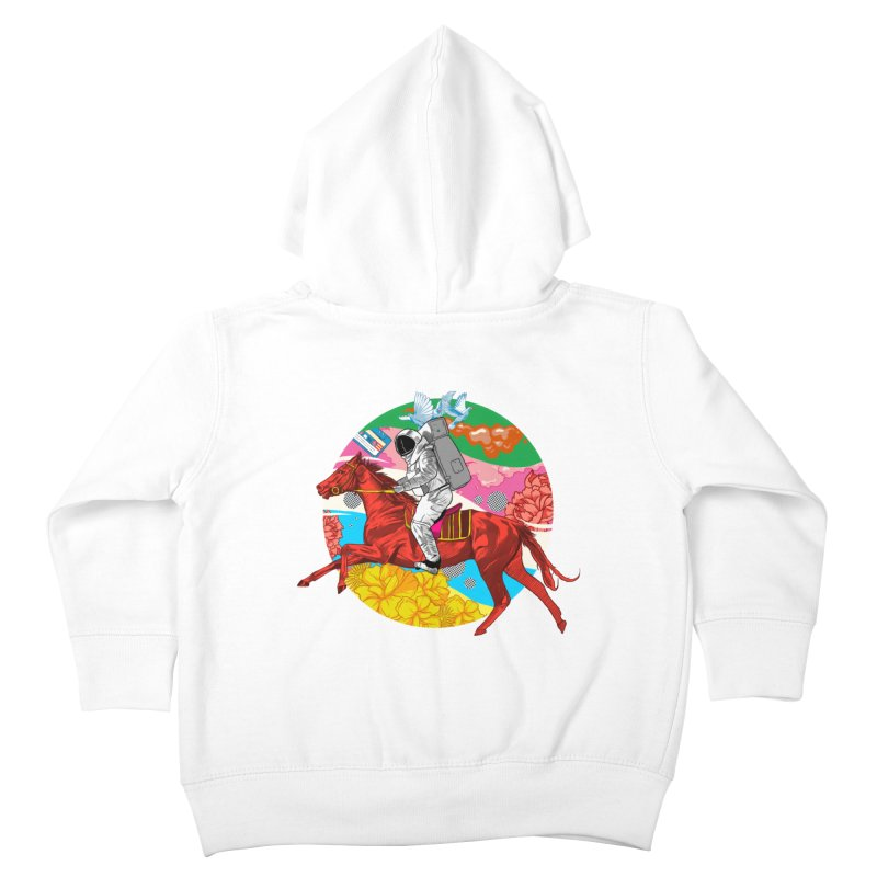 Psychedelic Space Journey Kids Toddler Zip-Up Hoody by RJ Artworks's Artist Shop